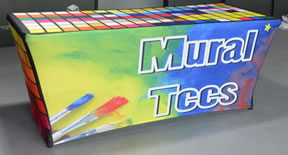 Stretch Table Cover with Full Color Print